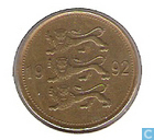 Estonia 50 senti 1992
