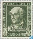 Stamps - German Federal Republic - Paraceisus 1493-1541