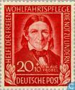 Stamps - German Federal Republic - Froebel, Friedrich 1782-1852