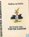 De troon van Toetoe Karton