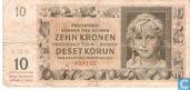 Böhmen Mähren 10 Kroner