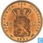 Pays-Bas 10 gulden 1892