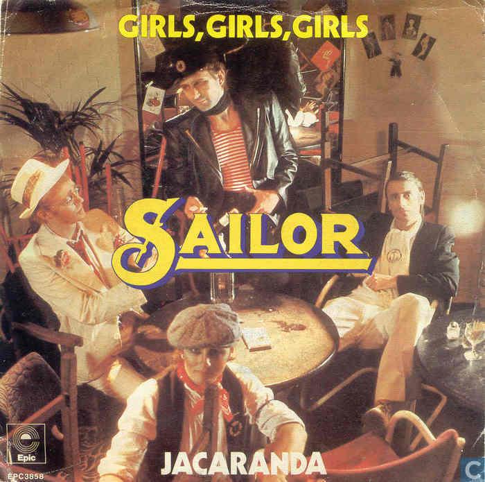 Vinyl records and CDs - Sailor - Girls, Girls, Girls