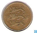 Estonia 5 senti 1991