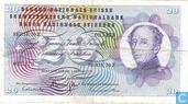 Schweiz 20 Franken 1970