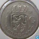 Coin - the Netherlands - Netherlands 1 gulden 1958