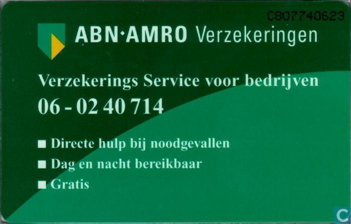 wa verzekering abnamro
