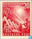Stamps - German Federal Republic - Bundestag