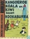 Kangoeroe koala en kiwi tegen kookaburra