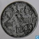 Most valuable item - Netherlands 2½ cent 1942 (zinc)