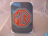 Emaille Reklamebord : MG