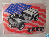 Emaille Reklamebord : Jeep