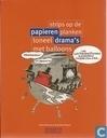 Papieren drama's - Strips op de planken - Toneel met balloons