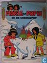 Mokie en Popie en de sneeuwpop