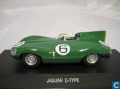 Model car - Edison - Jaguar D-type