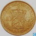 Niederlande 10 Gulden 1913