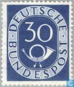 Stamps - German Federal Republic - Posthorn