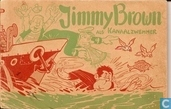 Jimmy Brown als kanaalzwemmer