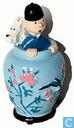 Tintin et Milou dans la Potiche