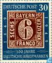 Stamps - German Federal Republic - Stamp Anniversary 1849-1949