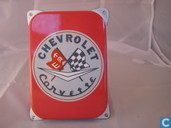 Emaille Reklamebord : Chevrolet Corvette