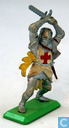 Toy soldier - Britains - Cross Knight with sword