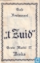 Caf Restaurant &quot; 't Zuid&quot;