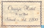 Oranje Hotel