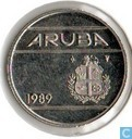Aruba 25 cents 1989