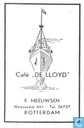 Caf &quot;De Lloyd&quot;