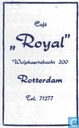 Caf &quot;Royal&quot;