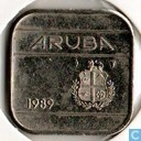 Aruba 50 cents 1989