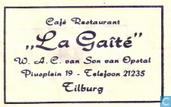 Caf Restaurant &quot;La Gat&quot;