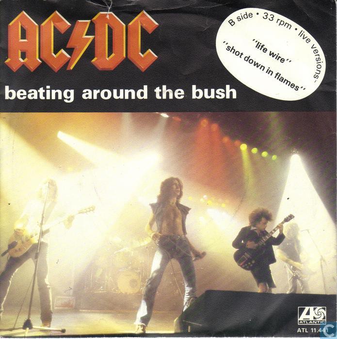 Рок ответ: ac/dc - beating around the bush (обзор)