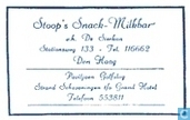 Stoop's Snack Milkbar