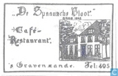 "Sugar packet - Bags - ""De Spaansche Vloot"" Café Restaurant"