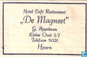 Sugar packet - Bags - Hotel Caf Restaurant &quot;De Magneet&quot;