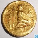 Ancient Greece Aetolian Bond Golden Stater 279-168 BC.