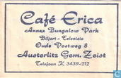 Caf Erica Annex Bungalow Park