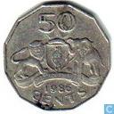 Swaziland 50 cents 1986
