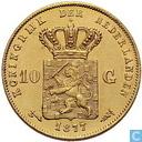 Niederlande 10 Gulden 1877