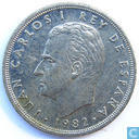 Coins - Spain - Spain 5 pesetas 1982
