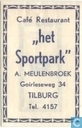 Caf Restaurant &quot;Het Sportpark&quot;