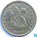 Coins - Portugal - Portugal 2½ escudos 1977