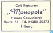 Caf Restaurant &quot;Monopole&quot;