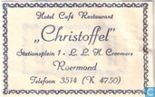 Hotel Caf Restaurant &quot;Christoffel&quot;