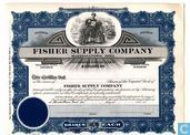 Fisher Supply Company, Odd share certificate, Capital stock, blankette