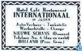 Hotel Café Restaurant Internationaal