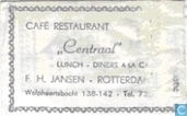 Caf Restaurant &quot;Centraal&quot;