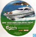 Win your own Carlsberg yacht